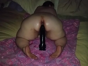 asian huge dildo video