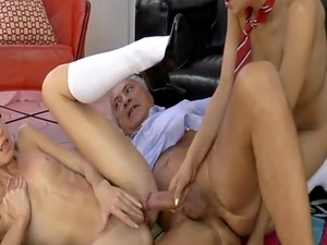 old man young girl homemade porn