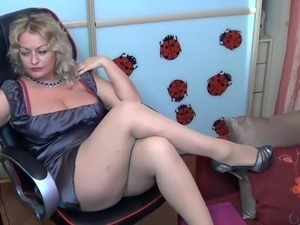 black pantyhose sex video