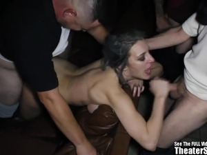 female orgasm gagging on dick