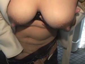 boobs lactation video