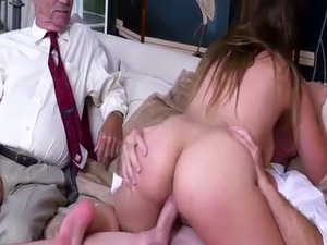 commercial old man nurse young wife