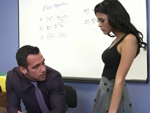 Teacher with nice ass
