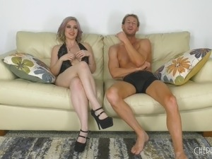 Natural blonde pussy hair