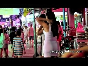 ladyboy video in bikini hard
