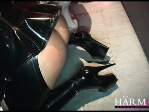 free latex handjob tube movie