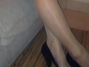 wife watching limo sex