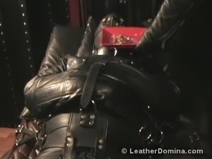 black girls porn in leather porn