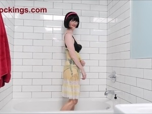 Videos of naked girls in the shower
