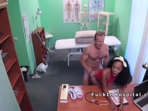asian doctor office sex video