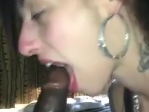 young white girl giving blowjob