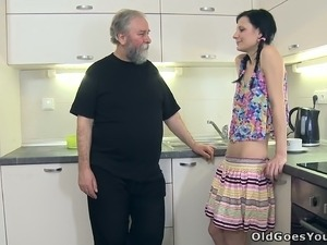mature kitchen sex movies