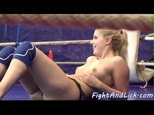 german girls who wrestle topless