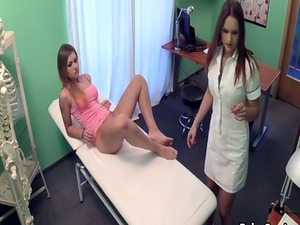 teen blonde nurses