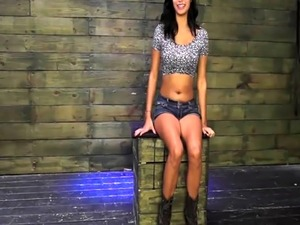 Extreme black sex Teen Jade Jantzen has been walking for awhile and he