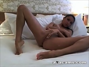 amateur video spreading ass