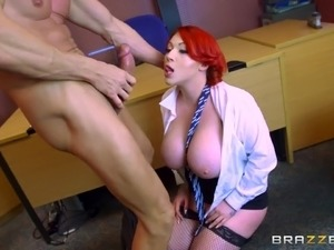 Brazzers big tits in sport