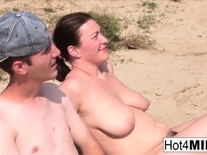 Naked at the beach pics