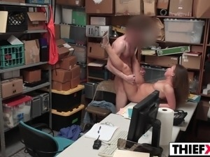 topless office girls