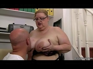 Big tits at work mindy main