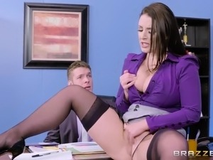 Big tits at work brazzers