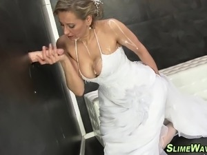 pictures of brides having sex