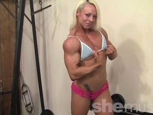muscled black woman fuck