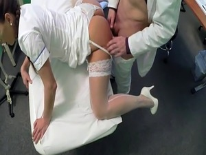 video nurse shot orgasm