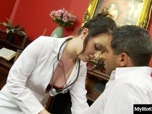 oral sex buxom nurse