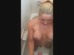 Black shower sex
