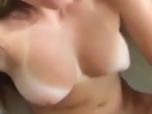 blonde fingers her asshole video