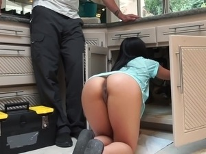 Sexy girls in the kitchen