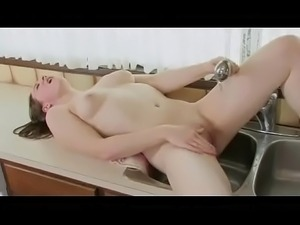 Sex scene kitchen