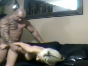 Cheating Blonde Housewife Kaylee Hilton Doggystyle On Spy Camera