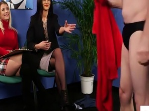 cfnm handjob humiliation free video