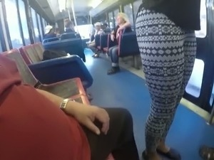 Girls ass in public