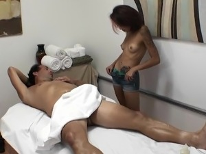 Nude asian massages