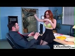 Girls have sex in office