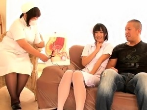 japanese handjob nurse