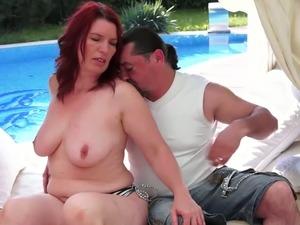 beach video mom son nudist sex