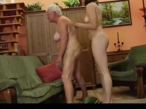 Old 'N Young Lesbians Take A Licking