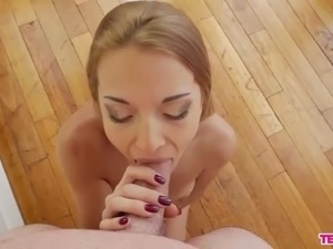 pov blonde sex