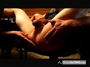 amateur video prostate massage
