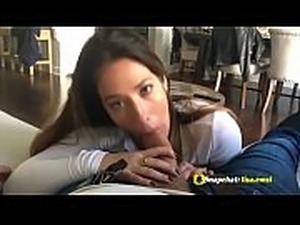 Teen suck big cock