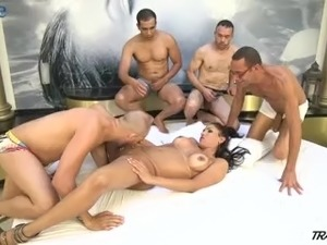 amateur wife interracial gangbang