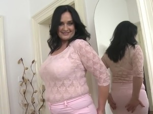 busty babe handjob ejaclation video