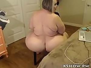 Gordas Horny Woman Cumming