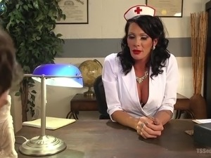 the nurse shaved my pussy