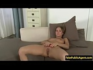 Stunning auditioning babe creampied by agent