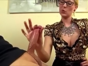 free asian handjob video